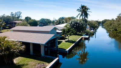 Photo for Beautiful Fishing Cottage with Canal Boat Slip and Canal Access Sarasota Bay