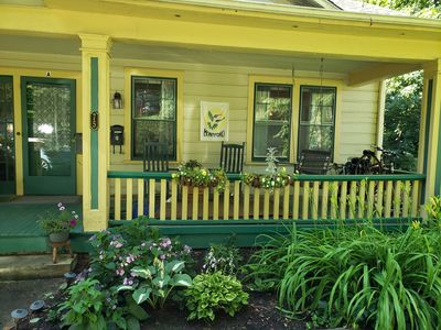 Photo for Cozy furnished duplex in Asheville's historic Montford neighborhood