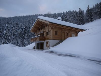 Photo for Beautiful cottage nine stunning views of the Aravis and Grand-Bornand.