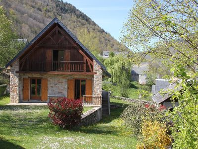 Photo for South facing chalet in Louron Valley