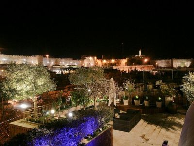 Photo for LUXURY PENTHOUSE IN DAVID VILLAGE! OVERLOOKING THE OLD CITY!