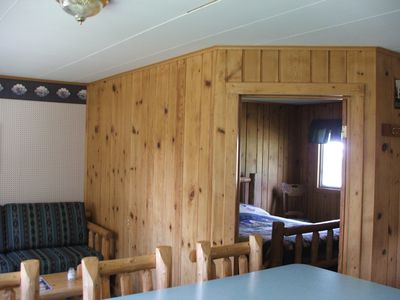 Photo for Fishing Cabin Overlooking Creek, Walking Distance To River, Country Setting