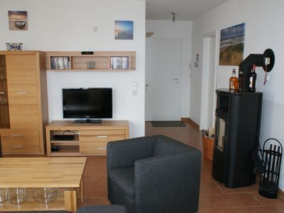 Photo for Great apartment with 2 bedrooms, sauna, whirlpool, fireplace, balcony, wifi