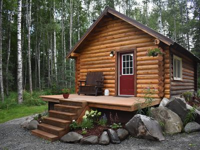 Photo for Comfy Cabin Nestled in the Woods