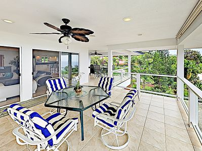 Balcony - Your private balcony includes a 4-person patio table.