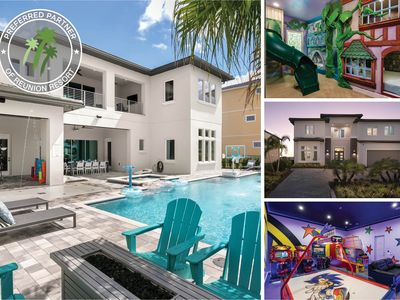 Photo for Worldwide Luxury   9 Bedroom Purpose Built Home with Sunny West-facing Pool