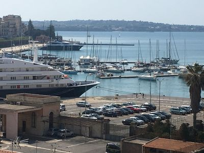 Photo for Case Diamante Penthouse Sea View Ortigia