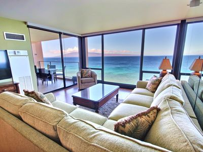 Photo for Amazing Views at  Mahana Direct Ocean Front on N.Kaanapali Beach