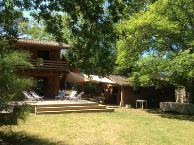 Photo for 20 beds - Spacious family house in Pointe aux Chevaux - 7 bedrooms