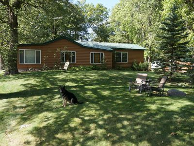 Photo for Pet-Friendly Cabin For Year-Round Fun on 6 Acres With 165ft of Shoreline