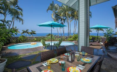 Photo for 7 C's Kona (Big Island) - Amazing Sunset Views! *Biked*Pool*Summer Special*