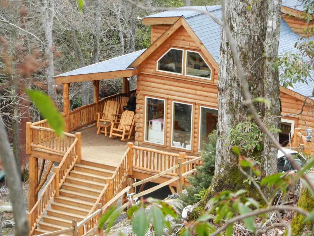 mountains vacation valley cabins maggie rentals premier north rental carolina cabin motorcycle