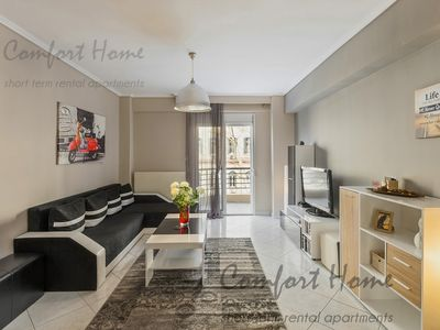 Photo for Comfort 5* Apartment 110m2 in historical centre of Thessaloniki