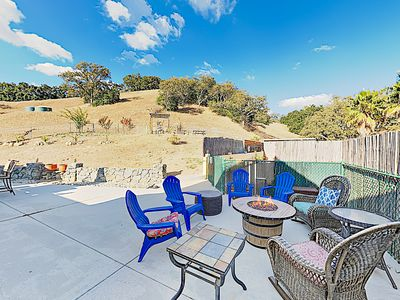 Photo for Modern Wine Country Retreat w/ Private Hillside Pool & Firepit