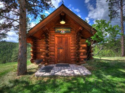 Photo for Beautiful Custom Log Cabin!