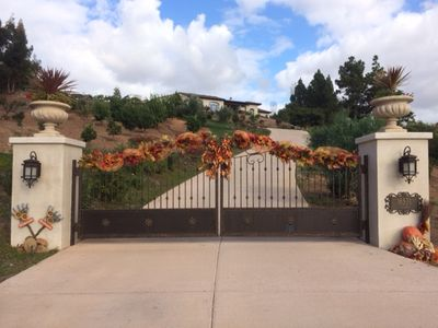 Enter through private gates to your home away from home just ready to enjoy!