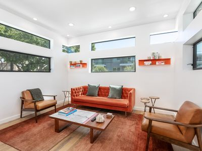 Photo for Luxury Hollywood Retreat w/ Private Hot Tub - Walk to Larchmont Village
