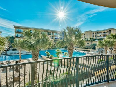 Photo for Adagio G201 YFAB's newest 3/3 pool front w/bonus bunk room,May rates lowered!