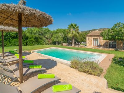 Photo for SA PUNTA - Villa with private pool in Son Carrió.