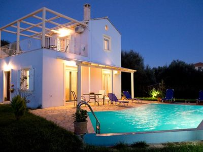 Photo for Villa Iolis,Luxury villa, with private pool,0,5km from beach & 0,5 km from town