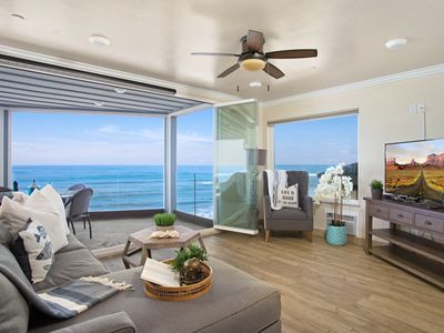 Beachfront Home with Private Beach, Designer Decorated & A/C Equipped