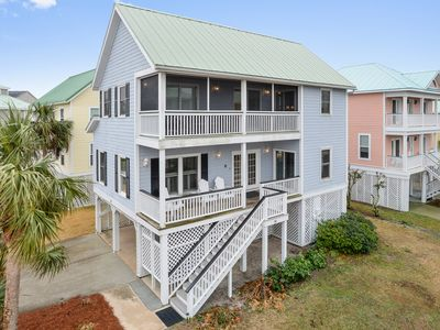 Photo for Total renovation, ocean views, and just 75 feet to the beach walkway and pool!