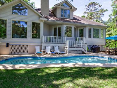Photo for Beautifully updated, tastefully furnished home with private pool. Close to beach!