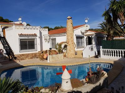 Photo for Beautiful charming villa in Calpe