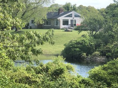 Photo for Beautiful, Private, Pristine home on 1.7 Acres in Hither Hills  - Walk to beach