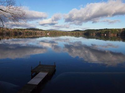 Photo for Best View on Perkins Pond - Sunapee Foliage/Ski/Snowboard Cottage