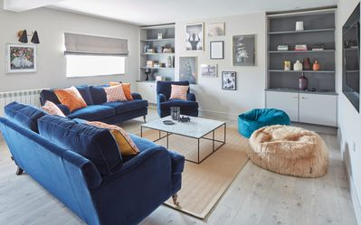 Photo for LUXURY HOUSE - The Bluehouse Watergate Bay, Cornwall, Sea Views, Pet Friendly