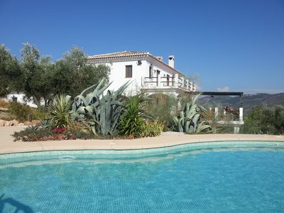 Photo for High standard villa with stunning views away from the crowds