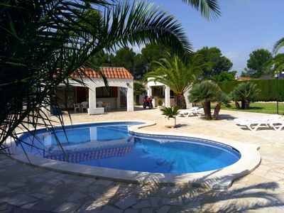 Photo for Stunning Villa 8 pax in Tres Calas Private Pool, Large Garden, Barbecue