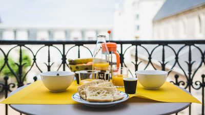 Photo for KEYWEEK Apartment at Local Market Biarritz, Balcony, Parking, Close to beach