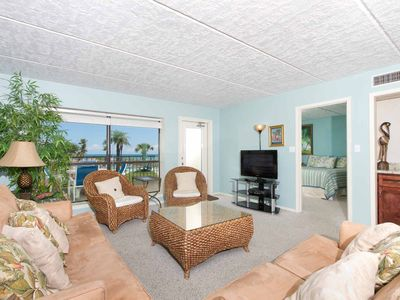Photo for Saida IV 201 - Oceanfront Condo Tastefully Decorated in Tropical Motifs, Wet Bar, Luxurious Grounds