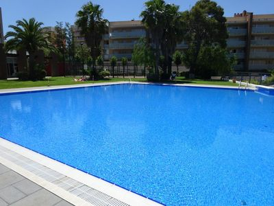 Largest outdoor pool in Salou