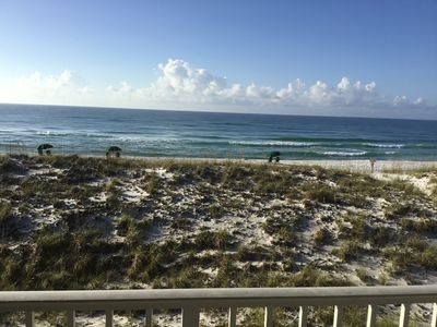 Photo for Gulf Front Townhouse Condo 3 BR, 2 1/2BA B Amazing View From 2 Balconies