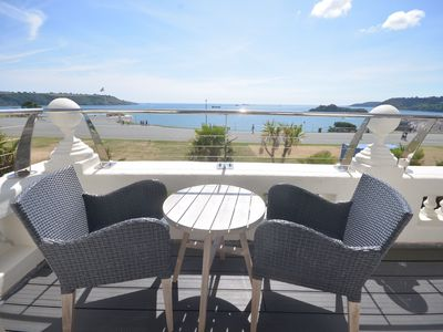 Photo for No 4 1 Elliot Terrace Luxury large designer apartment with stunning sea views over Hoe and Plymouth