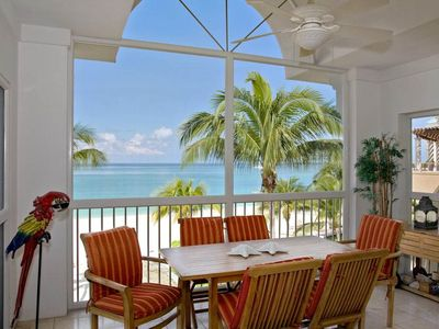 Photo for Stunning views of the Caribbean Sea | Beachfront Condo #37