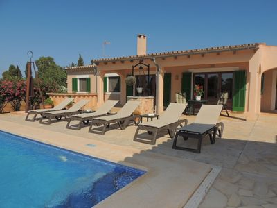 Photo for Can Pujola - Beautiful Finca with Private Pool and Idyllic Location near Cala Mondrago Beach! - Free WiFi