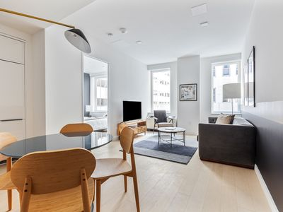 Photo for Sonder | Stock Exchange | Upscale 1BR + Laundry