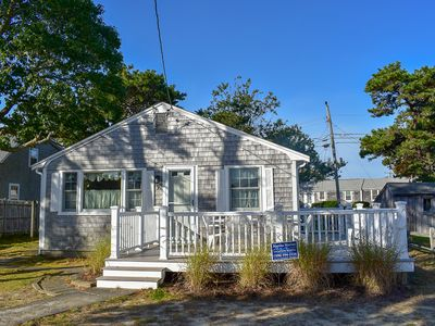 Photo for 9 Beaten- Cute and cozy three bedroom home located .4 miles to Haigis Beach.
