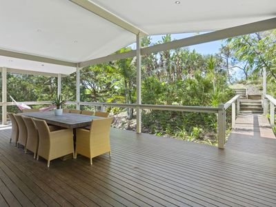 Photo for The Beach House - Absolute Beach Frontage with WiFi - Pet Friendly