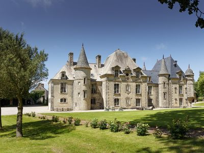 Photo for D'DAY LUXURY CHATEAU FOR RENT WITH  HEATED  POOL AND  TENNIS. SLEEPS 15