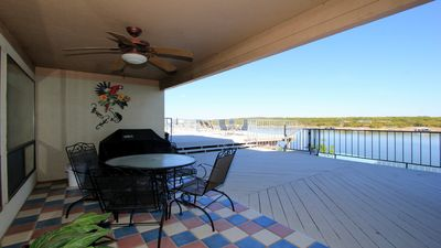 Photo for 1 BR Waterfront Condo #104 with covered boat slip
