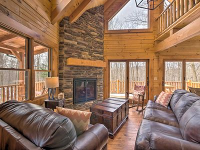 Photo for NEW! Family-Friendly Warsaw Cabin w/Furnished Deck