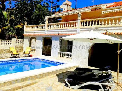 Photo for WONDERFUL DETACHED 2 FLOOR VILLA WITH PRIVATE POOL, WIFI AND AIRCO FOR 8 PERSONS