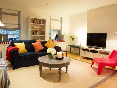 Photo for Full floor apartment in Chelsea with Garden