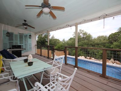 Photo for Stone Ridge Retreat- Bliss at Canyon Lake! Swimming pool, sleeps 12!