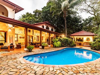 Photo for Tropical Surfside Newly Renovated Villa in Playa Guiones, Nosara